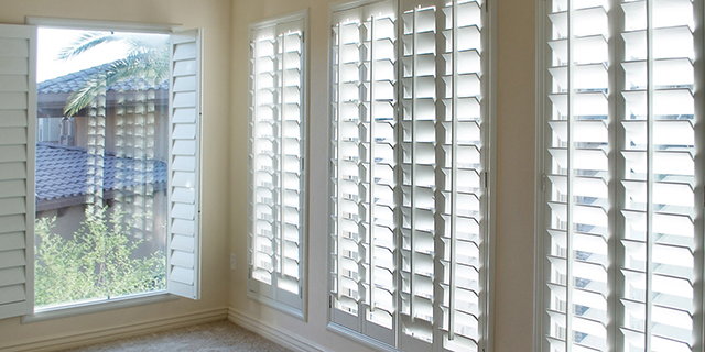 Custom Plantation Wood Shutters