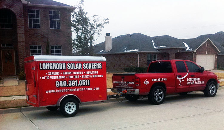Longhorn Solar Screens
